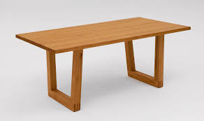 Contemporary Dining Tables by Contemporary Dining Table Wooden Rectangular Et102 Alfons