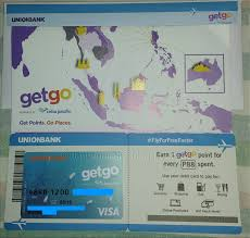 go prepaid card how to apply for the cebu pacific getgo debit card from unionbank
