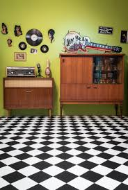 Checkerboard Vinyl Flooring Roll by Ivc Group Leoline Cushion Flooring Trendy Vinyl Floors From