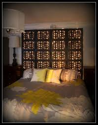 Bed Headboard Lights Diy Headboards With Lights Iemg Info