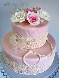 elegant bridal shower cake cakecentral com