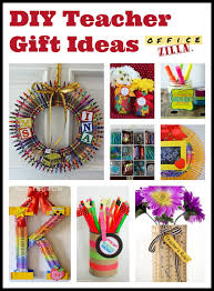 click for 9 diy gift ideas using office supplies http
