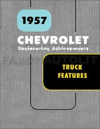 1957 chevy truck u0026 gmc canadian repair shop manual original