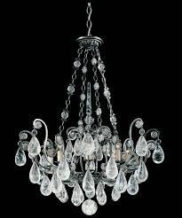 versailles chandelier lighting schonbek lighting versailles with rock crystal