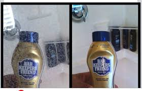 Water Stains On Glass Shower Doors Use Bar Keepers Friend To Remove Water Stains From Glass