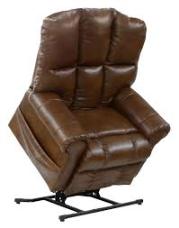 Catnapper Chaise Stallworth Power Lift Full Lay Out Recliner By Catnapper Wolf