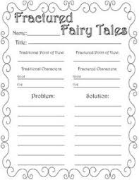 why teach fairy tales anchor charts fairytale and anchors