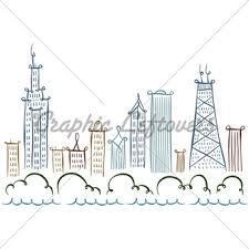 cartoon new york gl stock images