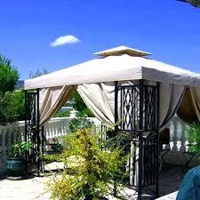 Outdoor Patio Canopy Gazebo Permanent Backyard Canopy Designandcode Club