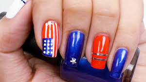 4th of july nail design show your patriotism with this easy flag