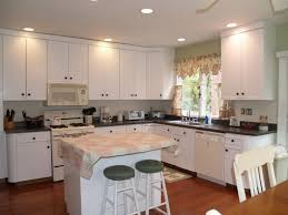 Painted Laminate Kitchen Cabinets Paint 80s Laminate Cabinets Kitchen Pinterest Laminate