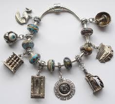 new products echarmony vintage silver enamel travel shield