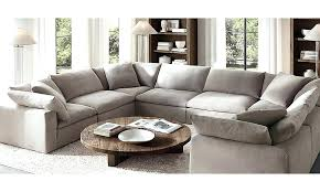 restoration hardware cloud sofa reviews restoration hardware cloud traditional living room with cube modular