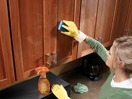 Clean Grease Off Kitchen Cabinets Imposing Exquisite How To Clean Kitchen Cabinets How To Clean