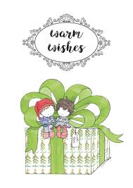 warm wishes postcard eng norsuart