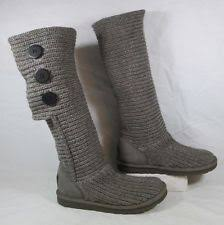 s cardy ugg boots grey ugg fabrice boots ebay