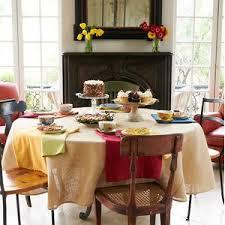 modern tablecloths allmodern
