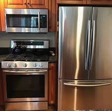 how to clean kitchen cabinets without leaving streaks how to clean stainless steel appliances without streaking