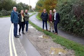 bad bid mallards way gets yellow lines in bid to finally tackle bad