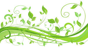 spring decoration with leaves transparent png clip art image