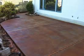 Painting Patio Pavers Patio Paver Lovely Acid Staining Concrete Patios For Large