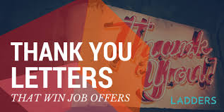the interview thank you email that will win job offers ladders