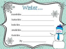 winter looks like a 5 senses seasonal poem u0026 a bonus christmas