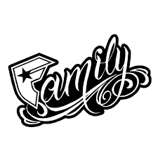 family logo with quote inspiring quotes and words in