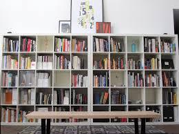 Spine Bookshelf Ikea Library From Living Room Shelves 2 5x5 Expedit Bookshelves Ikea