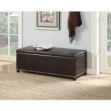 sole secret loft magnolia fabric shoe storage bench with espresso