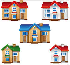3d Buildings Free Vector 2 Ai Format Free Vector Download 3d House Building Free