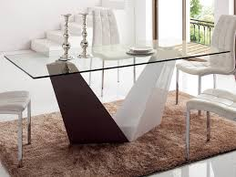 esf 1018 dining table dining table with glass and metal two