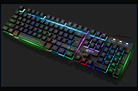 light up wireless keyboard computer gaming keyboard light up keyboard for dota 2 lol for laptop
