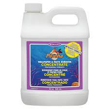 Zinsser Adhesive Remover by Piranha 206007 1 Gal Liquid Spray Wallpaper Remover Wall Decor