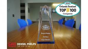 hensel phelps named seventh among top 100 companies in central