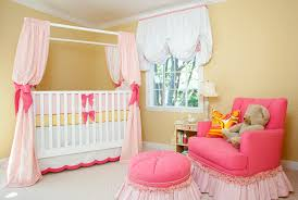 Yellow Curtains Nursery by Sweet Pink U0026 Yellow Baby Nursery By House Of Ruby