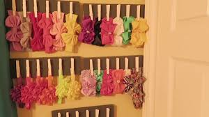 headband organizer diy wooden headband holder easy diy