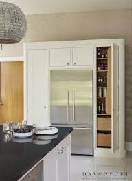 an alternative to a freestanding pantry these larder cupboards