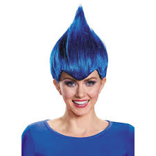 troll for halloween amazon com disguise wacky wig color one size clothing