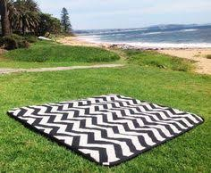 Zig Zag Outdoor Rug Picnic Rug Zig Zag Chevron Design Hot Pink By Islandhomeemporium