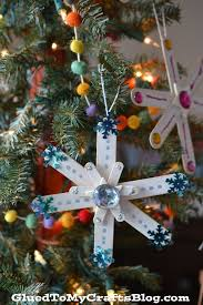 best 25 popsicle stick snowflake ideas on gold