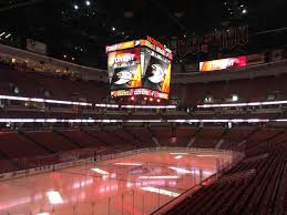 Hockey Scoreboard Light Fixture Anaheim Ducks Upgrade Lighting With Hes Solarange Fixtures