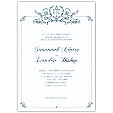 wedding invitations kansas city baroque monogram slate wedding invitations paperstyle