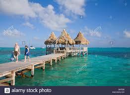 belize ambergris caye san pedro ramons village resort pier and