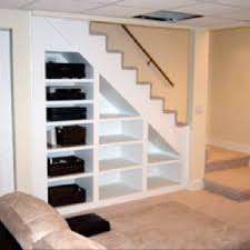 Stairs To Basement Ideas - best 25 stair shelves ideas on pinterest shelves under stairs