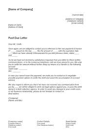 how to write a past due letter 1 u00261