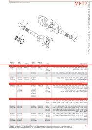 massey ferguson front axle page 61 sparex parts lists