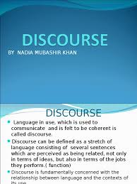 introduction to discourse analysis discourse linguistics