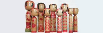 Traditional by Zao Takayu Traditional Kokeshi Dolls Japan National Tourism
