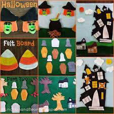 munchkin and bean halloween felt board part 2